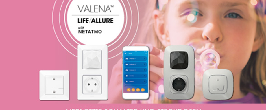 Valena with Netatmo bei Elektro Knaak GmbH & Co. KG in Hanau / Großauheim
